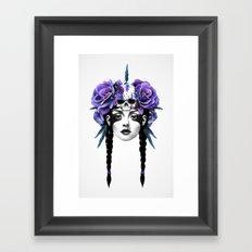 New Way Warrior Framed Art Print