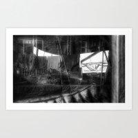 inertia  Art Print