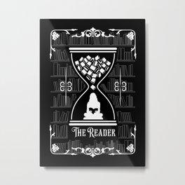 The Reader Tarot Card Metal Print