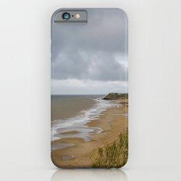 View of Happisburgh Beach iPhone Case