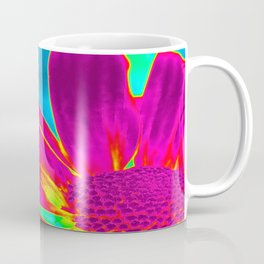 Flower | Flowers | Neon Daisy Coffee Mug
