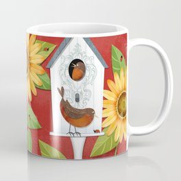 Sunflower Surprise Coffee Mug