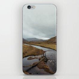 Broken Bridge Valley Mist iPhone Skin