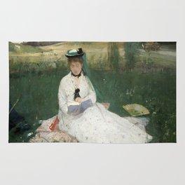 Reading by Berthe Morisot Rug