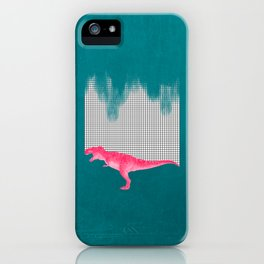 DinoRose - pinky tyrex iPhone Case