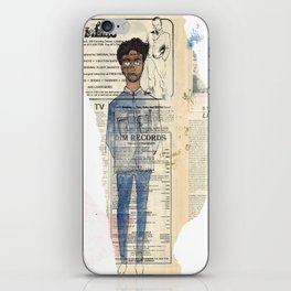 about a boy iPhone Skin