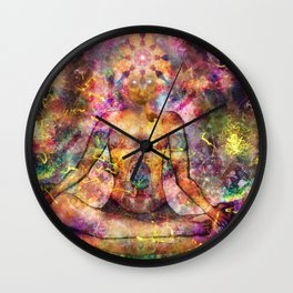 Shamanic Realms Wall Clock