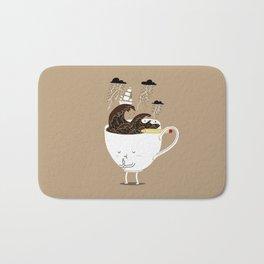 Brainstorming Coffee Bath Mat