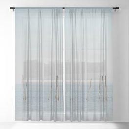 the Étang de Vaccarès ... Sheer Curtain