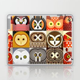 North American Owls Laptop & iPad Skin