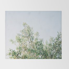 The olive tree | Italy fine art travel photography | Ostuni art Throw Blanket