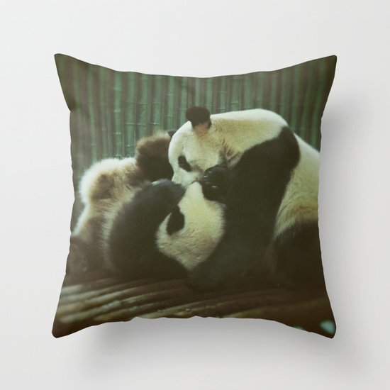 Nyatiti Throw Pillow