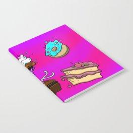 Exploding Desserts Notebook