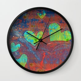 Bound by Love Wall Clock