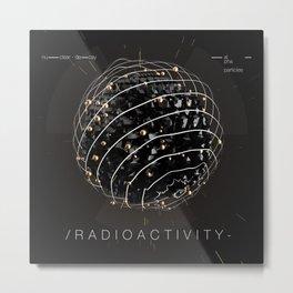 Radioactivity Metal Print