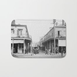 Madison Street, New Orleans, Louisiana 1906 Bath Mat