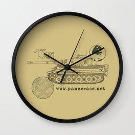 Michael Wittmann Panzer Ace 1331 Kursk Sand/Olive Green Wall Clock