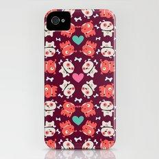 Puppies Slim Case iPhone (4, 4s)