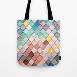 Bricks Full of Color Tote Bag
