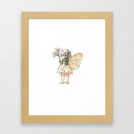 """""""JAPANESE CHIN FAIRY"""" Framed Art Print"""