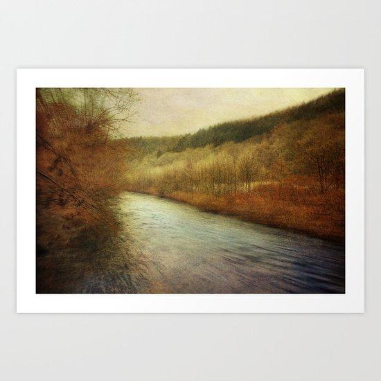 Romantic Fall Art Print