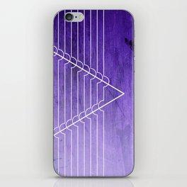 Disrupt - Purple iPhone Skin