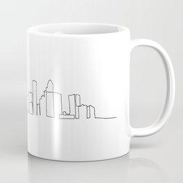 Houston Skyline Drawing Coffee Mug