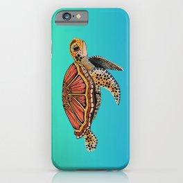 Sea Turtle Totem iPhone Case