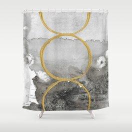 Balance2 Shower Curtain