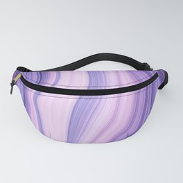 Marble ultra violet Fanny Pack