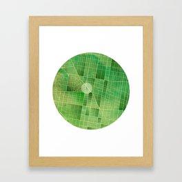 Map - Fairmount - Philadelphia Framed Art Print
