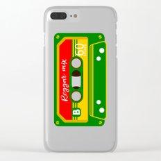 REGGAE MIX TAPE Clear iPhone Case