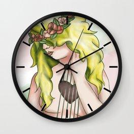 Heartstrings Wall Clock