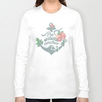 anchor Long Sleeve T-shirts featuring Anchor by siny