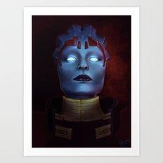 Mass Effect: Samara Art Print