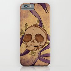 Skull and ribbon  iPhone 6s Slim Case