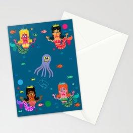 Mermaid Sisters Stationery Cards