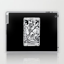 La Mort Card Laptop & iPad Skin