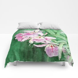 Orchid Cascade Comforters