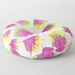 Pink Yellow Green Pop Floor Pillow