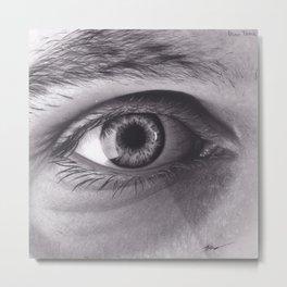Dino Tomic Eye Metal Print