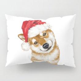 Christmas Shiba Inu Pillow Sham