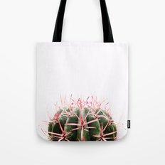cactus red Tote Bag