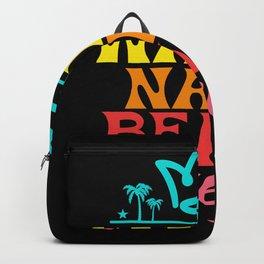 Waimanalo beach queen Backpack