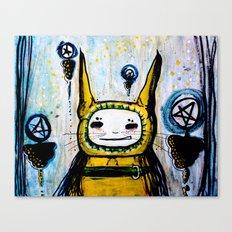 My friend.  Canvas Print