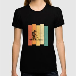 Astronaut Space Galaxy  Vintage Retro T-shirt