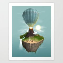 Tropical Escape Art Print