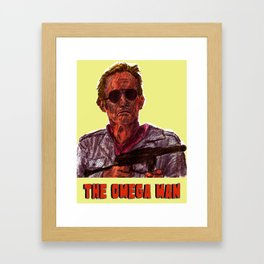 The Omega Man Framed Art Print