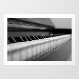 The Piano Art Print
