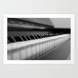 The Piano Art Print